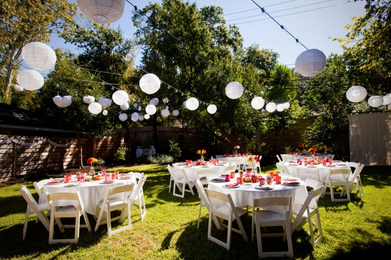 Elegant Backyard Wedding Ideas About Their Trevor And Kelley Tied The Knot At Familys